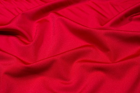 Red lycra for cyclingshorts, swimsuits etc.