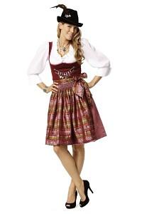 Burda 7443. Dirndl dress.