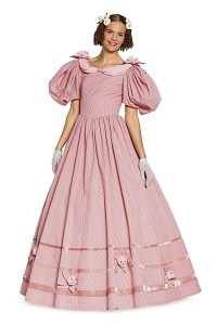 Burda 7466. Biedermeier dress.