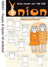 Onion pattern: Tops and dresses for knits