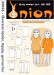 Onion 20046. Oversize dress, top, leggings.