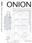 Onion 2042. Dress-top with 2 sleeve types.