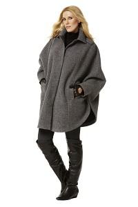 Cape, coat. Burda 7422.