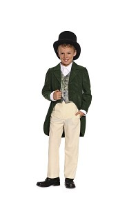 Biedermeier suit for boys. Burda 9528.