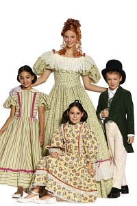 Biedermeier dress. Burda 9529.