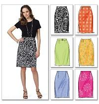 Skirt and belt. Butterick 5466.