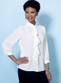Tops with Neckline and Sleeve Variations. Butterick 6488.