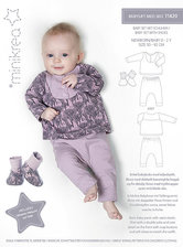 Baby suit with pants and blouse. Minikrea 11420.