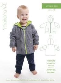 Hooded jacket. Minikrea 20505.