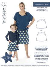 Jersey skirt. Minikrea 66140.