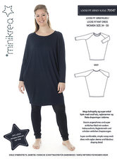 Loose fit jersey dress. Minikrea 70047.