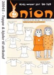 Onion 20045. Tops and dresses for knits.