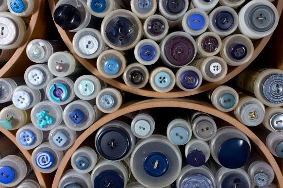 Blue buttons 2