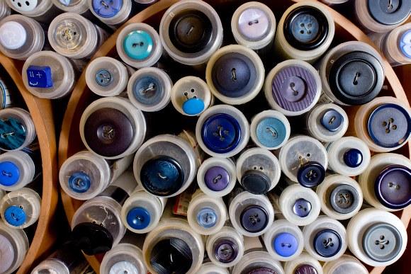 Blue buttons 3