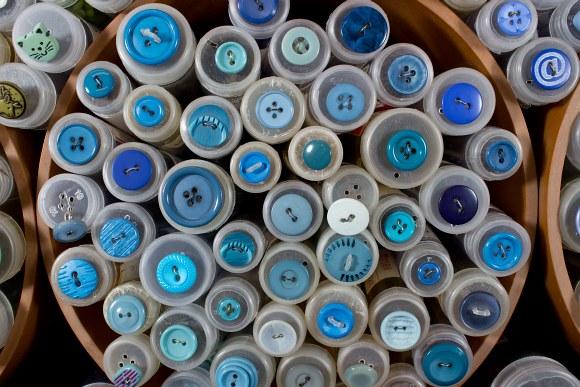 Blue buttons 6