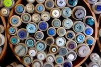 Blue buttons 8