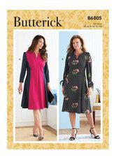 Dress. Butterick 6805.