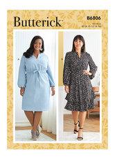 Dress. Butterick 6806.