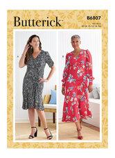 Dress. Butterick 6807.