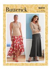 Skirt. Butterick 6818.