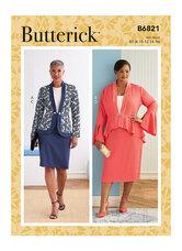 Jacket Skirt. Butterick 6821.