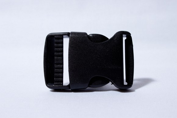 Click buckle black 3 cm wide