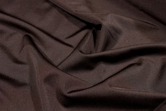 Chocolate brown lycra for cyclingshorts, swimsuits etc.