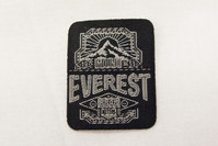 Everest iron on patch, 3 x 4 cm