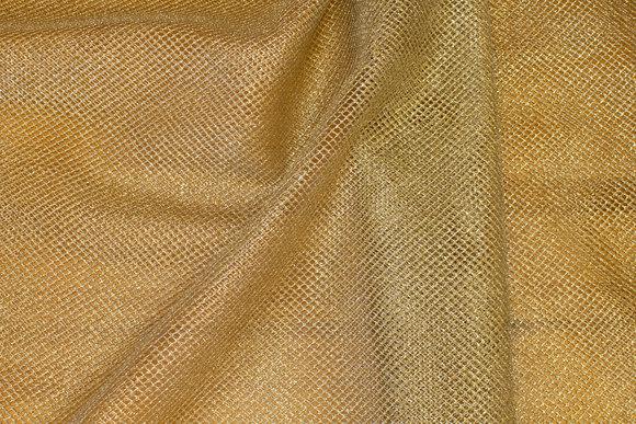 Gold-net-fabric, 3 mm holes