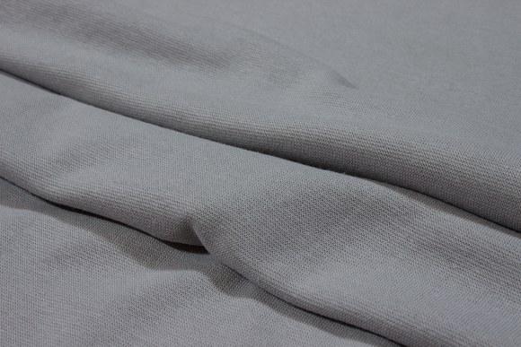 Light grey rib-fabric