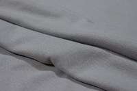 Light grey rib-fabric