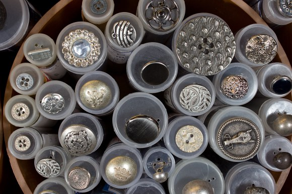 Metal buttons 5