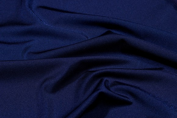 Navy blue stretchlycra for cyclingshorts, swimsuits etc.