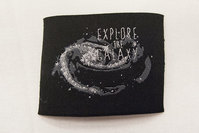 Patch Explore the galaxy, for ironing, 5 x 6.5 cm