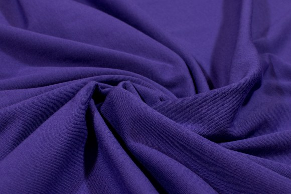 Purple stretchjersey in cotton and lycra