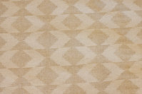 Sand and off white blend in big width, 5 cm pattern