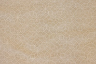 Sand and off white blend in big width, 5 cm stars
