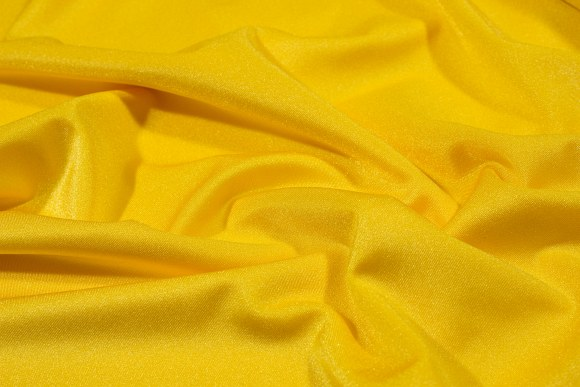 Sun-yellow lycra for cyclingshorts, swimsuits etc.
