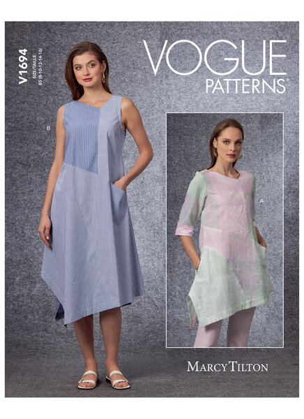 Tunic and dress, Marcy Tilton