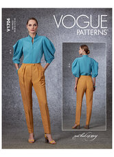 Top and Pants, Rachel Comey. Vogue 1704.