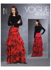 Skirt. Vogue 1740.