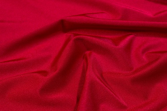 Winter-red lycra for cyclingshorts, swimsuits etc.