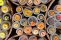 Yellow-orange buttons 1.