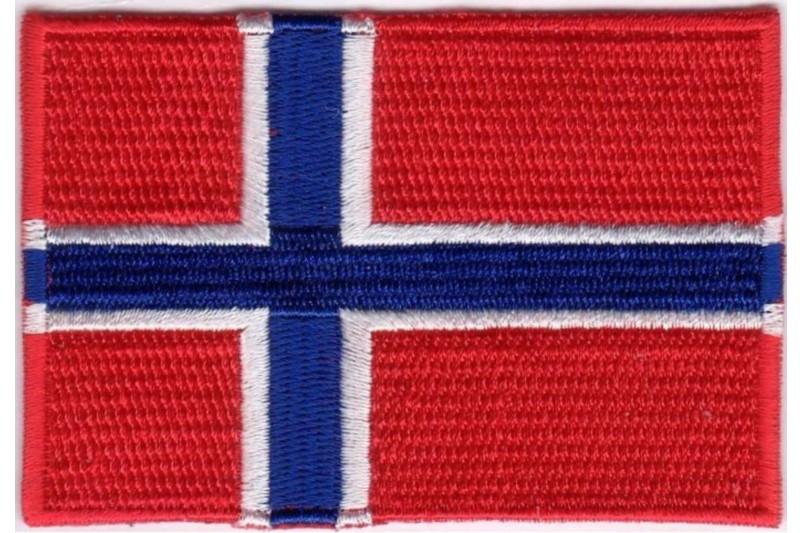206414a53d1 Strygemærke norsk, dansk eller tysk flag | FJØLNER