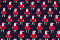 Santa jersey navy