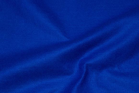 Cobolt-blue hobby-felt in 180 cm width