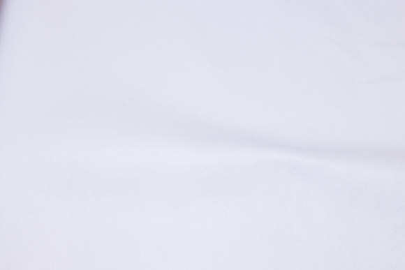 White hobby-felt in 180 cm width
