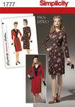 Misses´ 1940´s Vintage Dress