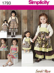 ChildÂs Dress Set & 18 inches Doll Dress