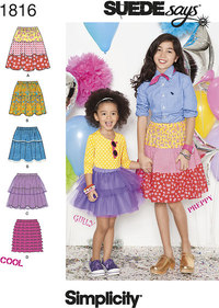 Child´s & Girl´s Skirts SUEDEsays Collection
